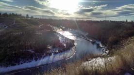 November 2014 - Elbow River in Calgary