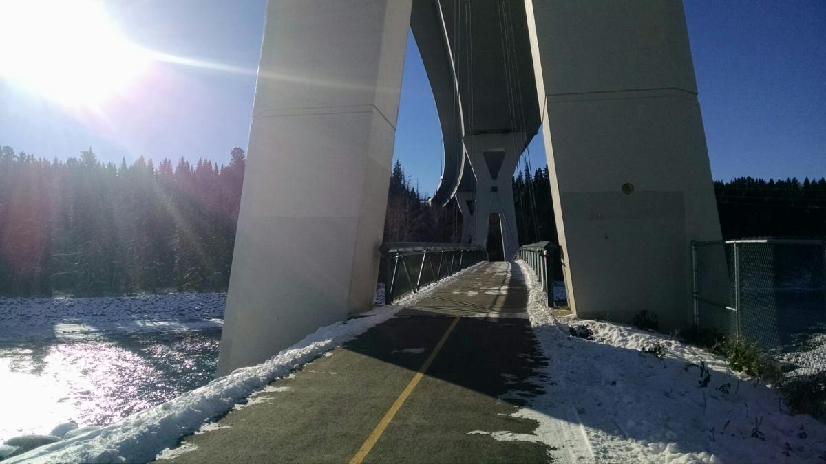Seen on my run – another bigbridge
