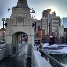 Centre Street Bridge - Dec 2014