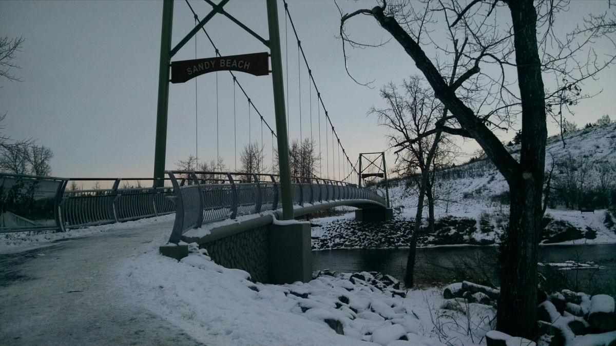 Seen on my run – brand newbridge