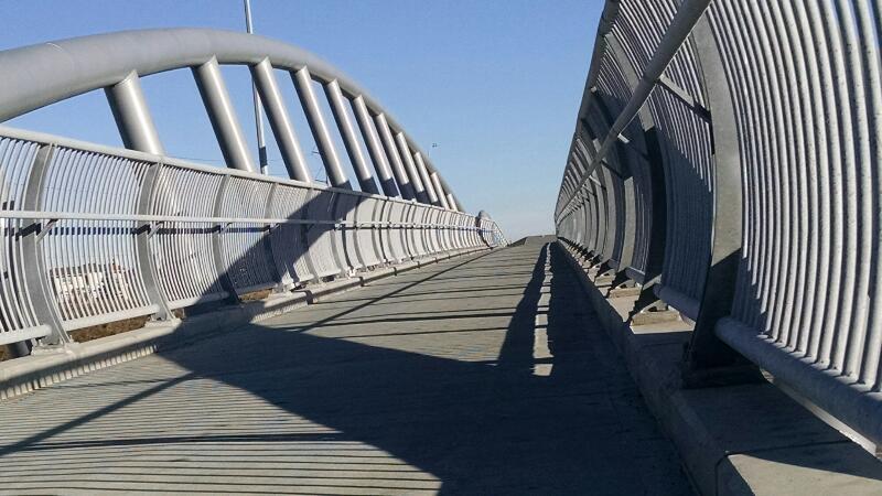 Suburban bridges run