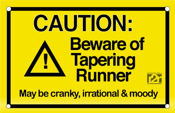 Tapering is thePits!