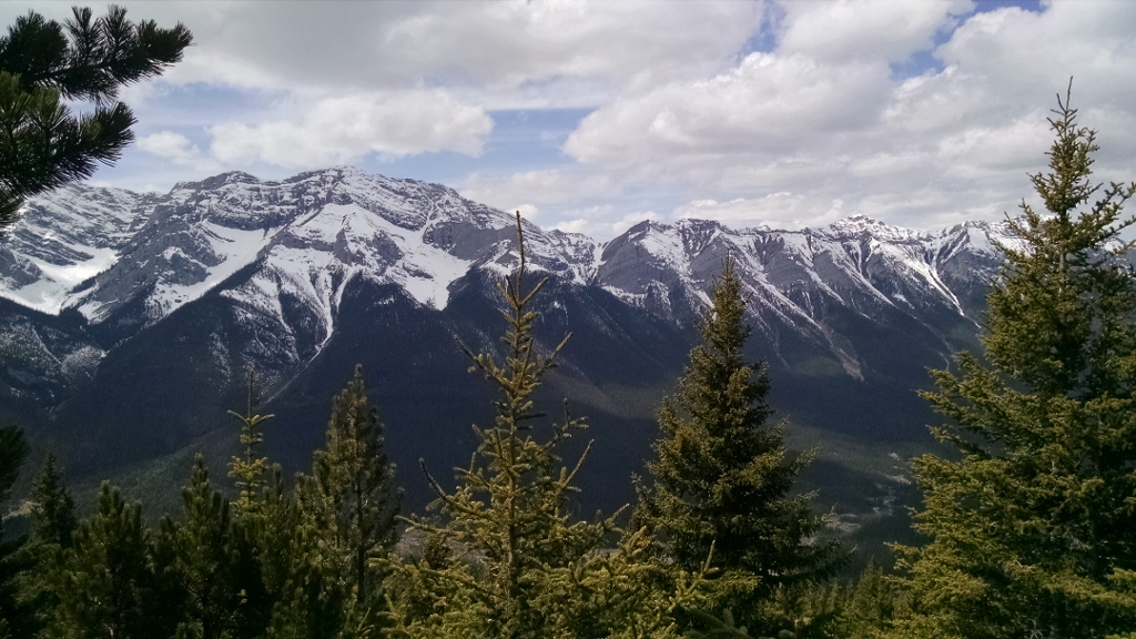 Running in Calgary and the Rockies