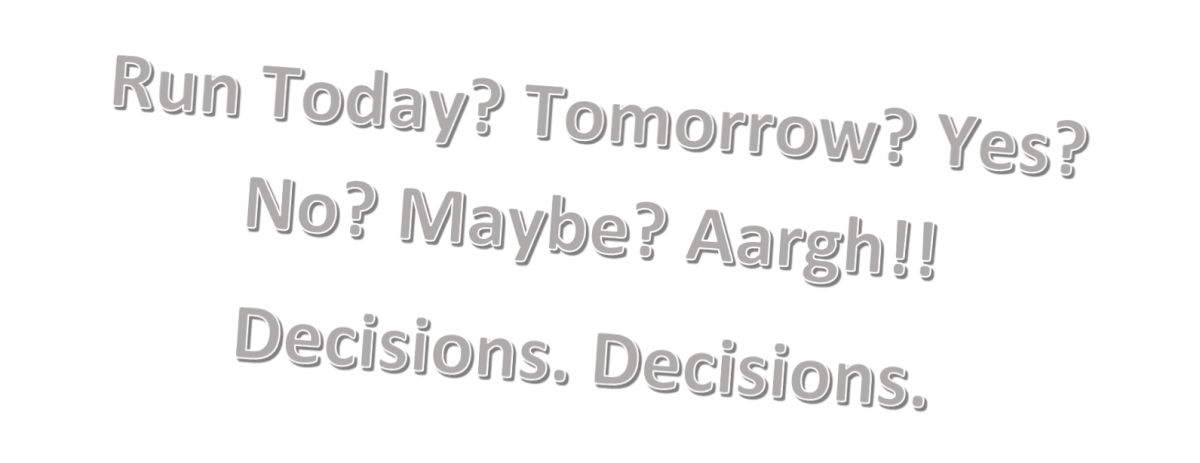 Should I Run Today? – DecisionTool